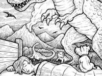 Dreamosaurs Illustration