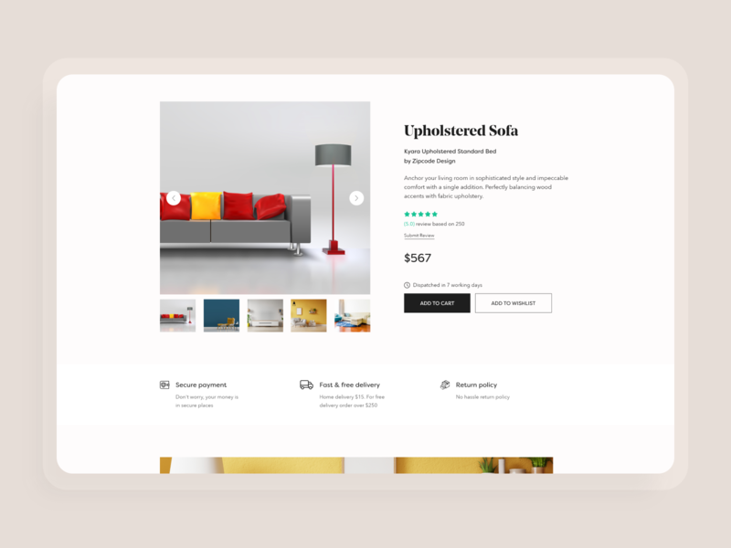 E-commerce- product details b2c shopping design home page landing page shopping cart ui app flat design ux ios b2b branding brand design e-commerce design ecommerce website ecommerce app e-commerce shopping app shop
