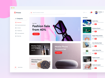 E-commerce Web App web ui user interface user experience exploration android app ios app e-shop product design illustration dribbble best shot multi vendor b2b sales dashboard woocommerce shopping app flat design shopify e-commerce website e-commerce shop e-commerce app