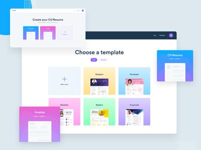 CV maker - Web app