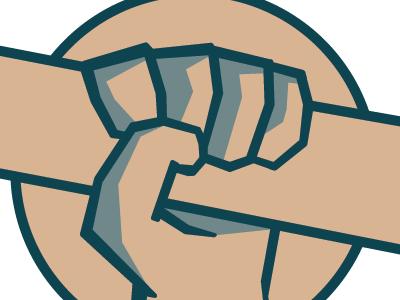 Dough Uprising branding sketch 1