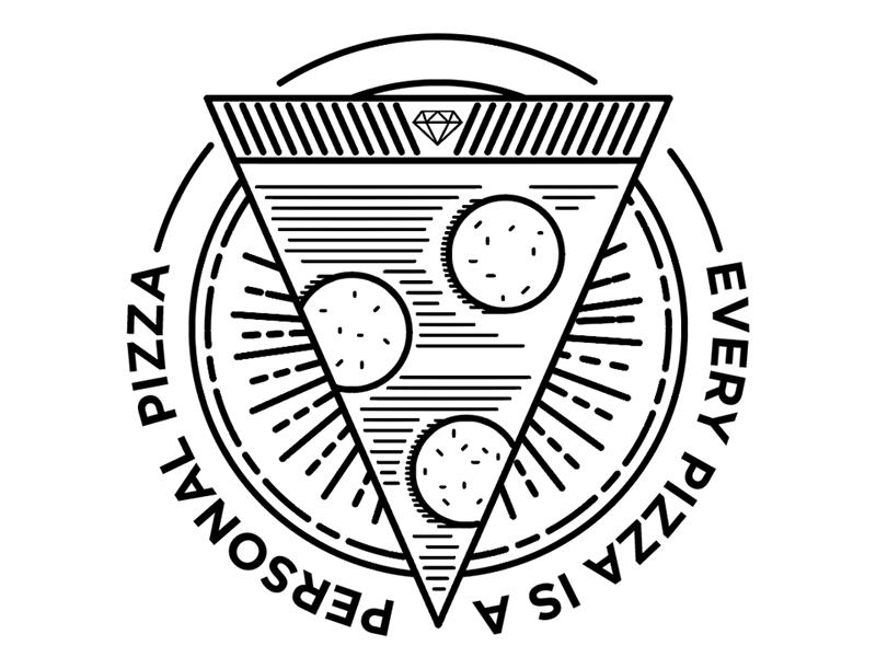 PIZZA!! sticker pizza
