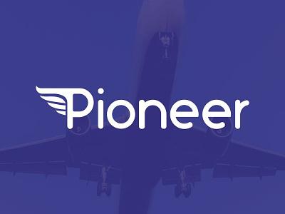 Pioneer | #DailyLogoChallenge logo design logo pionner logo challenge daily logo challenge dailylogochallenge