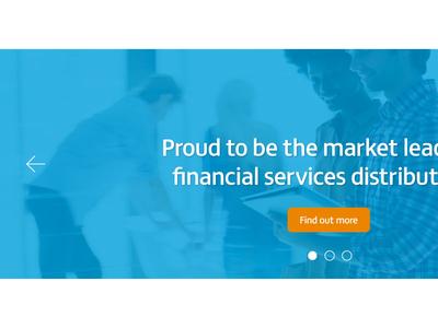 Header slider panel fs matthew button business finance
