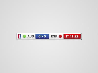 FIH Score hockey gradient fih shadow time clock score spain australia tv