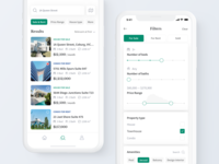 Real Estate iOS: Search property and Filters