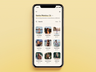 Surf App: Booking/Reservation Flow sun typography app design success message calendar app booking app surfing surf ios app app ux ui design interaction interface animation ui animation calendar reservation booking animation