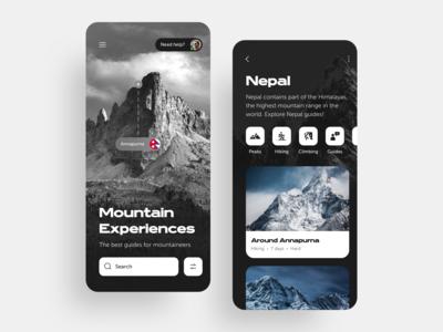 Mountain Experiences [Travel App]