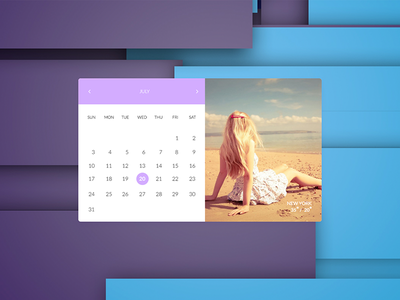 Calendar clean material design dailyui 100days 038 ui daily calendar