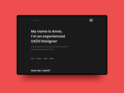 Personal site web design github site personal
