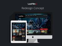 LostFilm Redesign Concept