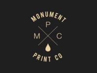 Monument Print Company - Branding - Revision 1
