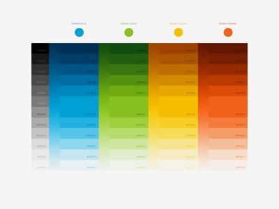 OPSWAT Color Palette