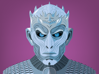 Game of Thrones Illustration tv series flat design game of thrones hbo vector characters illustration got