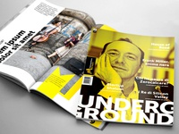 Editorial design for Metropolitana di Napoli