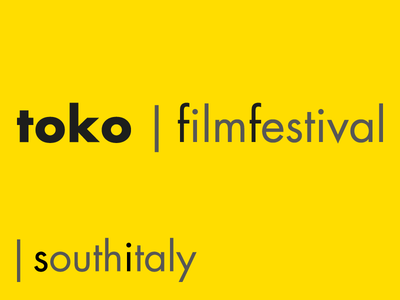 Toko Film Festival - Short Film Festival in South Italy print design art director short film south italy film festival advertising yellow logo branding italy cinema