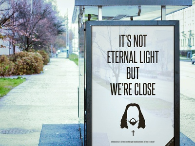 Use the LED - Teaser advertising ethernal light art direction wars star quotes lighting led jesus illumination einstein light