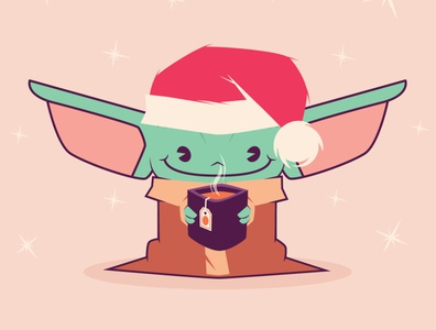 Christmas Baby Yoda