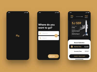 Fly. - A Premium Booking App
