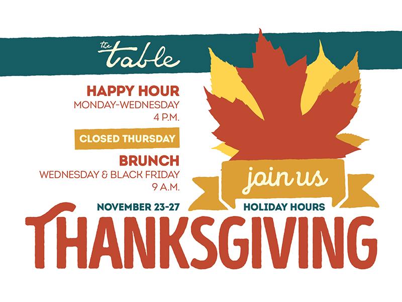 Thanksgiving Flyer flyer restaurant autumn fall thanksgiving