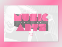 Music For The Arts 2017 Concept