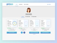 Prizeo Profile - Badges and Rewards