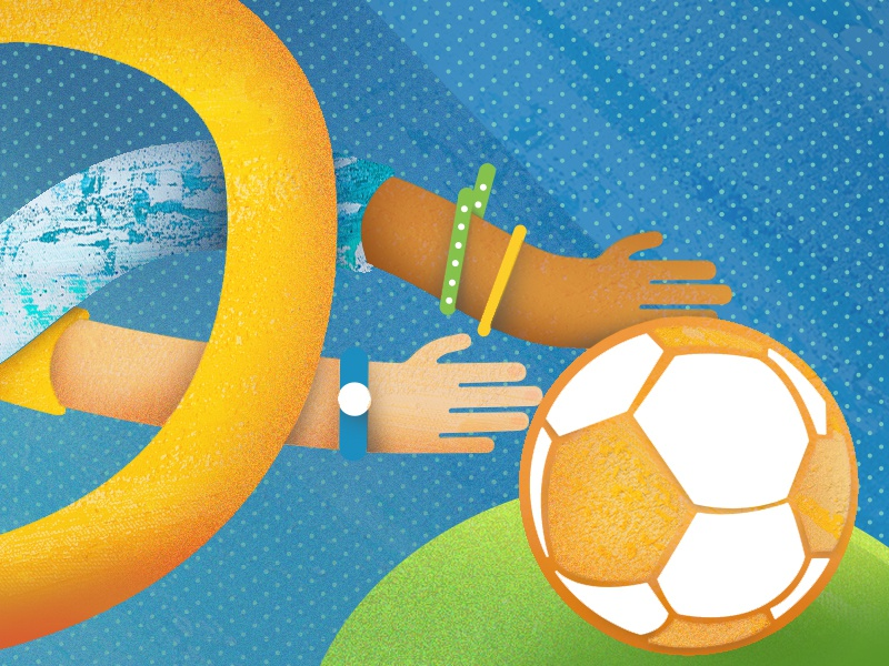 Soccerglory Dribbble soccer arms body parts brazil goal game passion worldcup