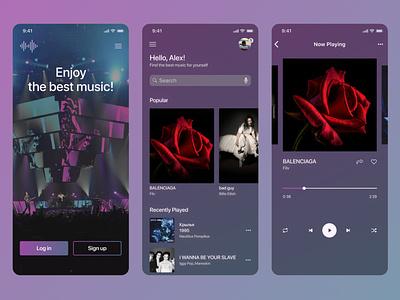 #DailyUI#009 app design ux ui