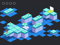 FLOWER GARDEN game design isometric gamedev pixelart