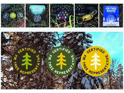 Fir Tree Badges