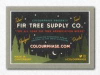 Fir Tree Supply Co business card