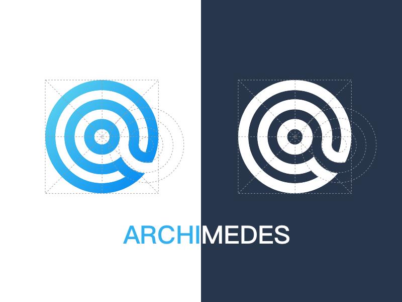 LOGO for Archimedes archimedes @ circle logo