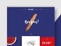 Crêperie Web Design