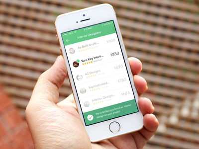 Thumbtack for iOS thumbtack ios app list photos price reviews compare complete green project