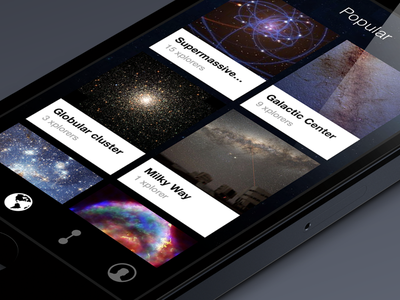 What the world is exploring popular feed explorers tiles space galaxies iphone ios app trending social