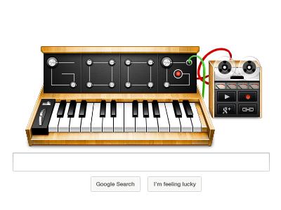 Google's doodle (.psd)