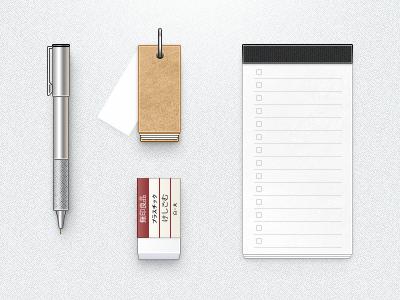 Muji Gear muji 無印良品 pen notebook memo eraser note aluminuim cardboard japan aluminium