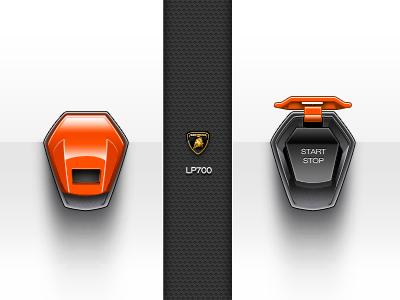 LP700 - Start Engine switch lamborghini lp700 start engine on off app sportcar car