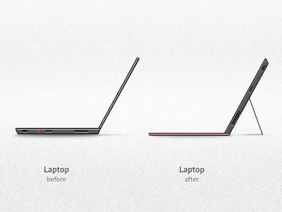 Laptop Evolution evolution laptop tablet form-factor surface