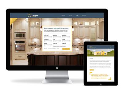 Newvo Homes website