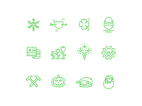 Holiday / Seasonal Icons