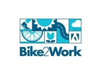 Adobe Bike2Work Logo