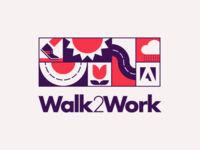 Adobe Walk2Work Logo