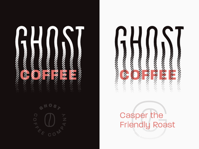 Ghost Coffee Brand Elements