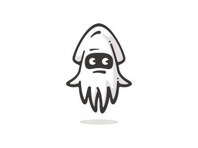 Blooper water fish squid super mario videogame mario cartoon icon design character art vector logo illustration
