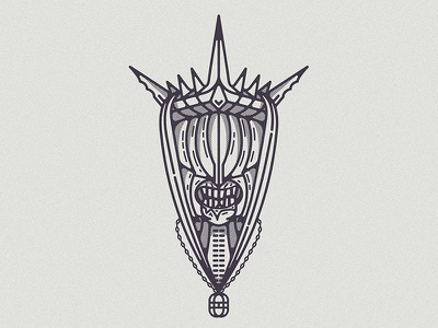 Mouth mouth death king helmet armor fantasy hobbit sauron lotr lord of the rings illustration