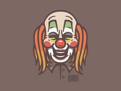6 horror mask scary slipknot clown metal band design icon character art logo vector illustration