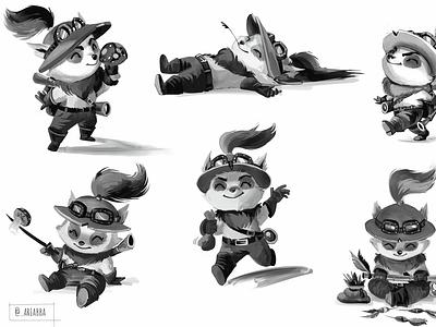 Teemo sketches character draw teemofanart leagueoflegends teemo sketch character design drawing illustration