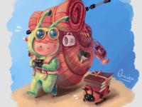 Snail Backpacker