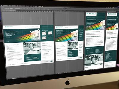 Responsive Webdesign for Stehle responsive webdesign desktop tablet mobile